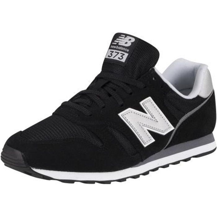 New Balance 373 Baskets en daim, Noir, Homme