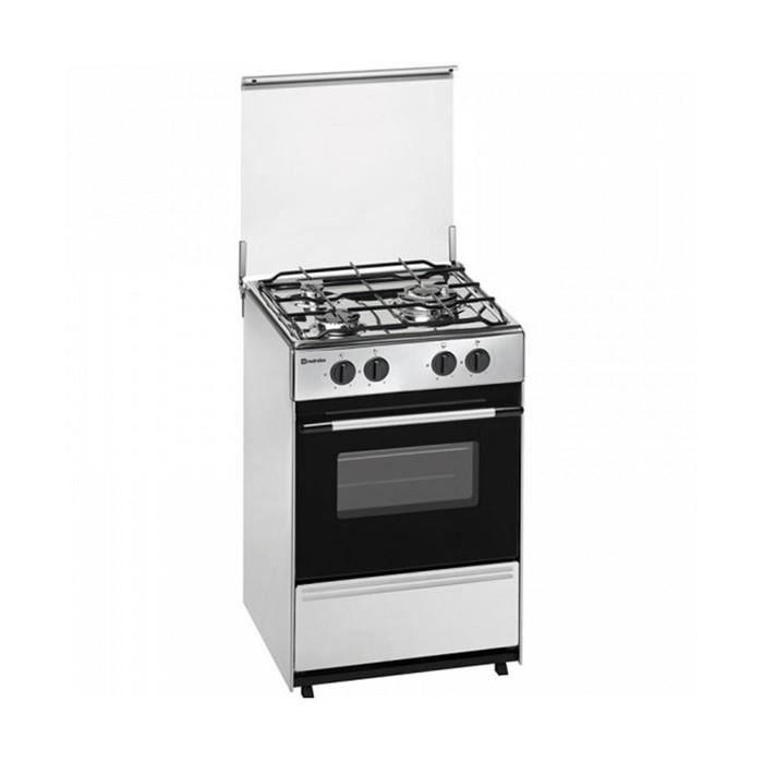 Plaques de cuisson Magnifique cuisiniere a gaz meireles g-1530 dv x 7500w 60 cm acier inoxydable