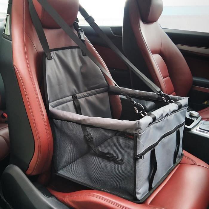 Imperméable Pet transporteur de sécurité Ceinture pour siège auto rehausseur sac Tapis de voiture Coussin pour chien chat animal
