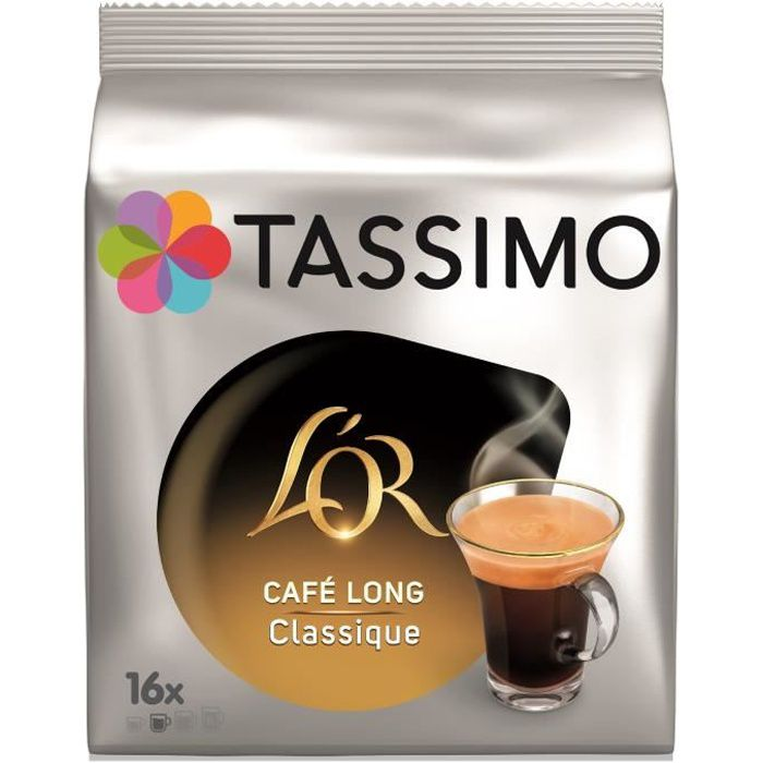 Tassimo L'Or Café Long Classique x16 - 104g