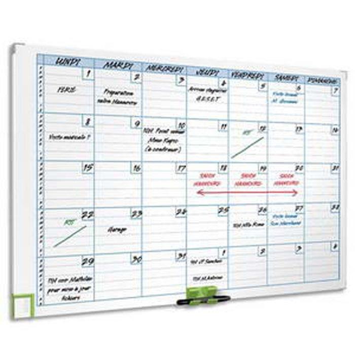 Planning magnétique mensuel perfomance 3048101