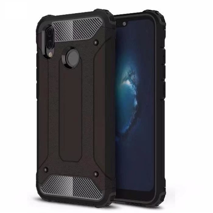 Huawei P20 Lite Coque, Haute Protection Rugged Arm