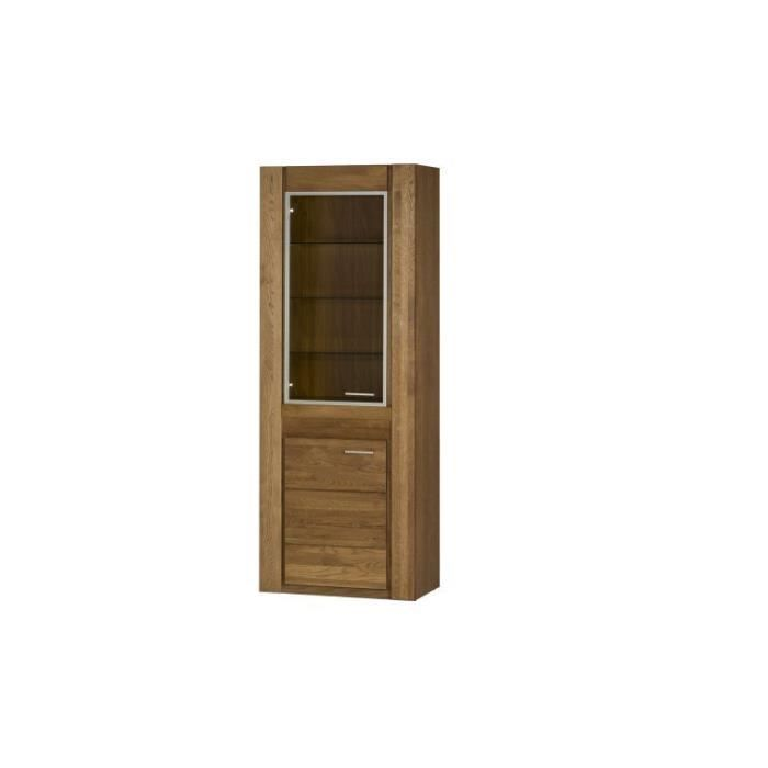 vaisselier loft en bois massif achat vente vitrine. Black Bedroom Furniture Sets. Home Design Ideas