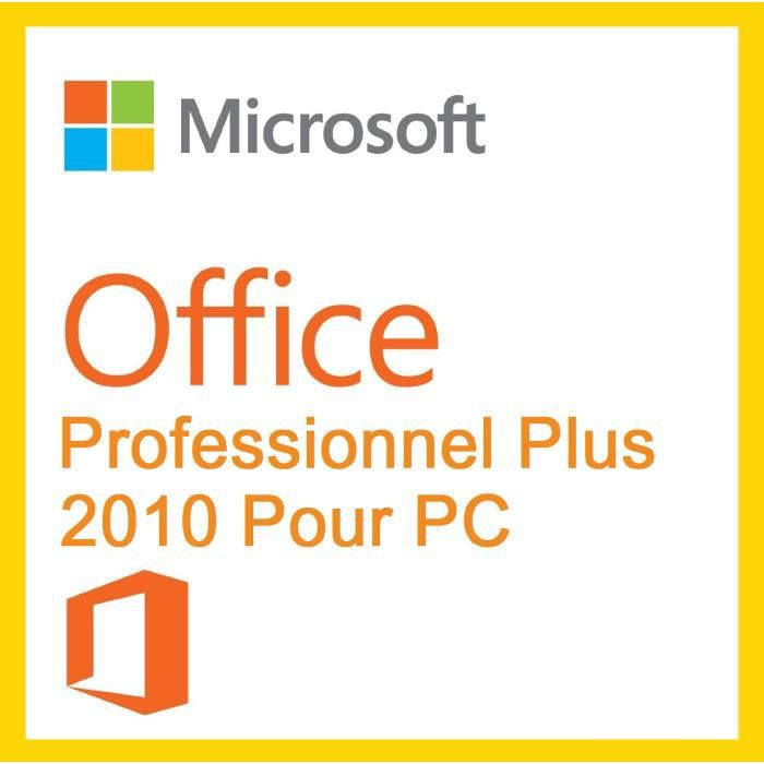 Office professionnel plus 2010 livraison en 1h 24 24 par mail version d mat rialis e - Cle office professionnel plus 2010 ...