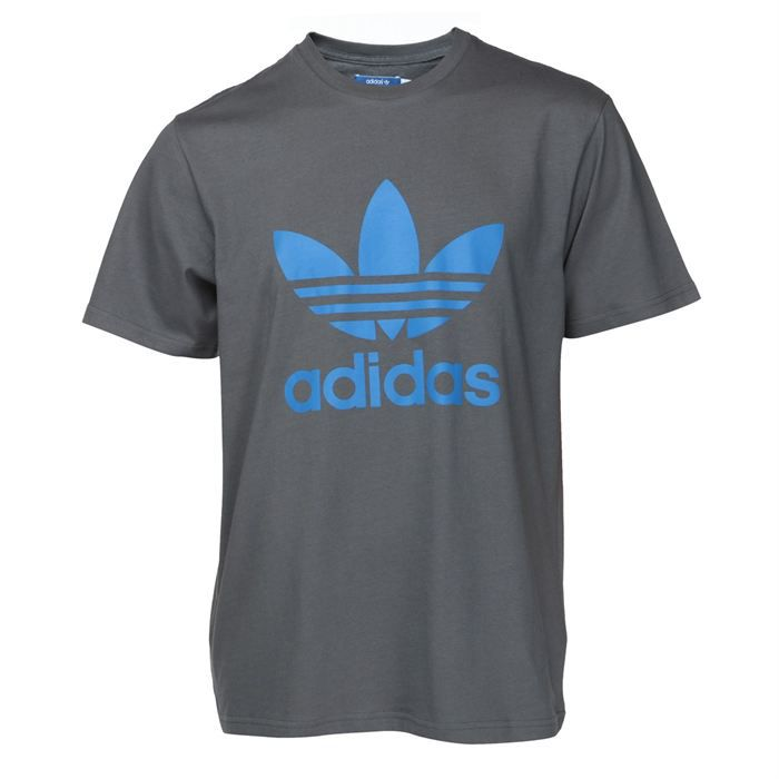 adidas t shirt original trefoil tee schwarz pictures to pin on. Black Bedroom Furniture Sets. Home Design Ideas