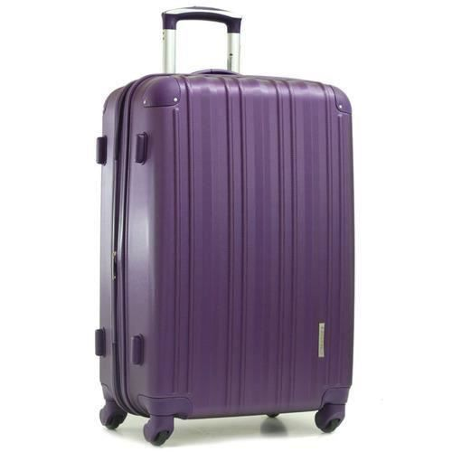 valise rigide 4 roues 70 cm violet violet achat vente valise bagage 3700240828798 cdiscount. Black Bedroom Furniture Sets. Home Design Ideas