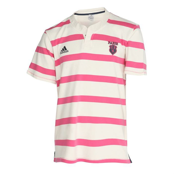 adidas polo rugby supporter stade fran ais homme achat. Black Bedroom Furniture Sets. Home Design Ideas