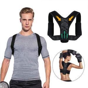 TROUBLE MUSCULAIRE  Correcteur de posture ajustable Support dorsal Ce