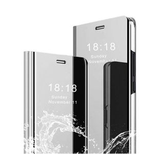 HOUSSE - ÉTUI Aclay Coque Samsung A40 ,Flip Clear View Transluci