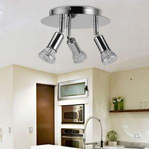 PLAFONNIER Wowatt Plafonnier LED à 3 spot Orientable avec 3x