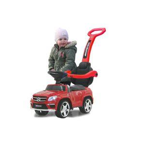 PORTEUR - POUSSEUR Porteur Mercedes avec canne parentale 89 cm Rouge