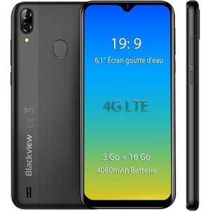 SMARTPHONE Blackview A60 Pro smartphone 4G 6.1 pouces Écran 3