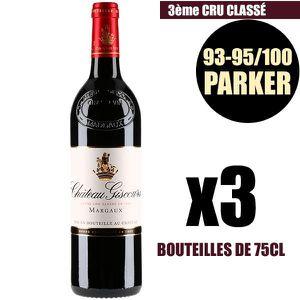 VIN ROUGE X3 Château Giscours 2016 Rouge 75 cl AOC Margaux 3