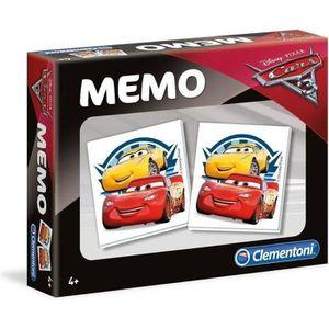 MÉMORY CLEMENTONI Super Mémo - Cars 3 - Jeu de mémorisati