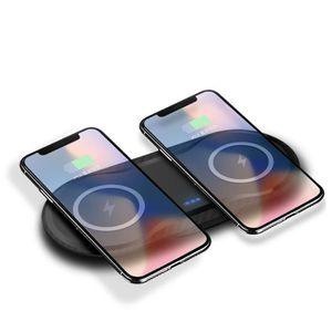 CHARGEUR TÉLÉPHONE FDGAO 2 en 1 Qi Chargeur sans fil double charge po