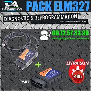 OUTIL DE DIAGNOSTIC Mister Diagnostic® ★ PACK DIAGNOSTIC ★ ELM 327 USB