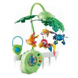 MOBILE FISHER-PRICE Mobile feuilles magiques