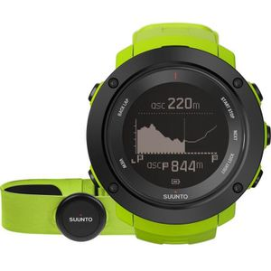 MONTRE OUTDOOR - MONTRE MARINE SUUNTO Montre AMBIT3 Vertical Vert HR