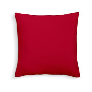 COUSSIN TODAY Coussin déhoussable 100% coton - 60 x 60 cm