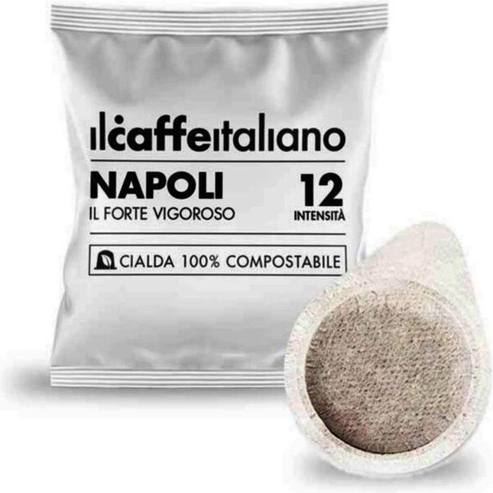 150 dosettes de café compostables - Mélange Napoli intensité 12 - Il Caffè Italiano