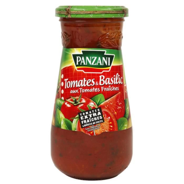 Sauce Tomates et Basilic - 400 g