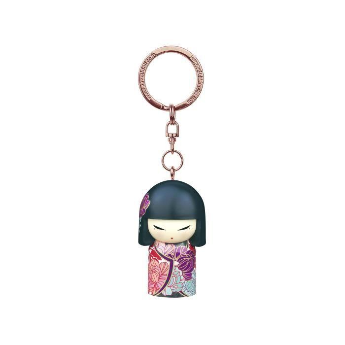 Porte clé Kokeshi Kimmidoll 5cm Naomi - Honest Beauty VERSION ANGLAISE