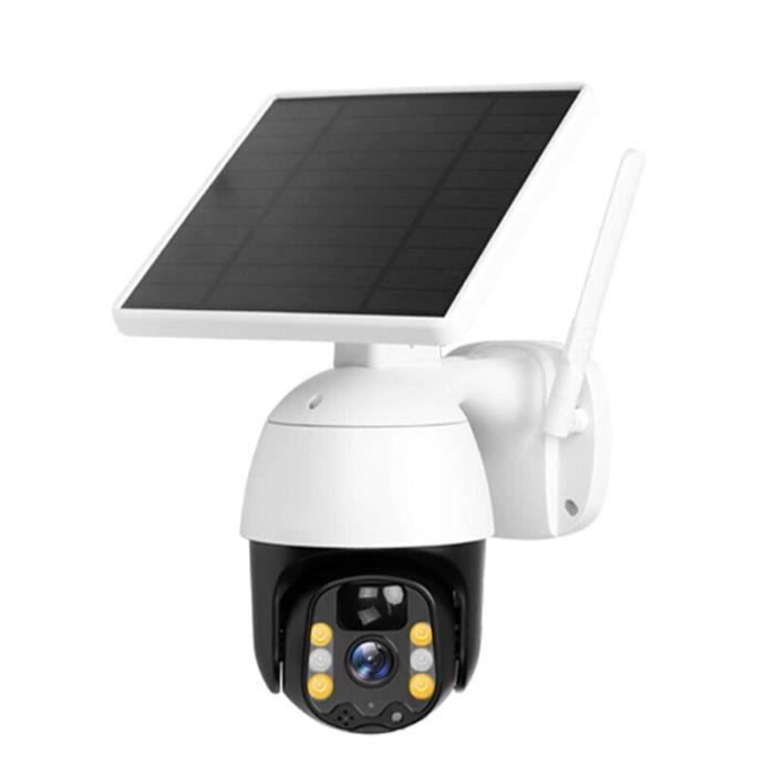 3MP IP PIR caméra WIFI 7W panneau solaire batterie sécurité faible puissance caméra extérieure PTZ CCTV caméra moniteur de sécurité