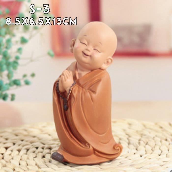 Bouddha Statue Figurine en résine Pour Voiture Maison Décor S-3 Me15792