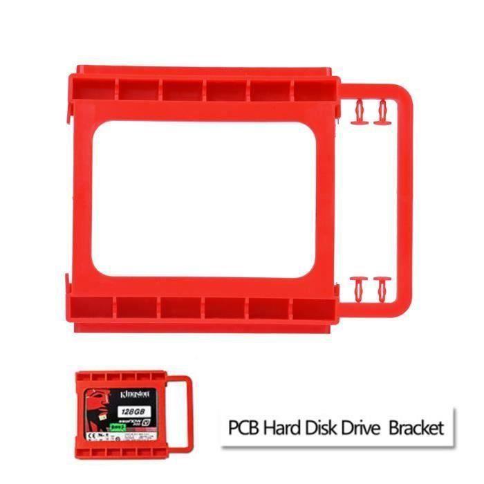 2.5to3.5 pouces SSD sur disque dur Support de fixation sans vis Support de disque dur