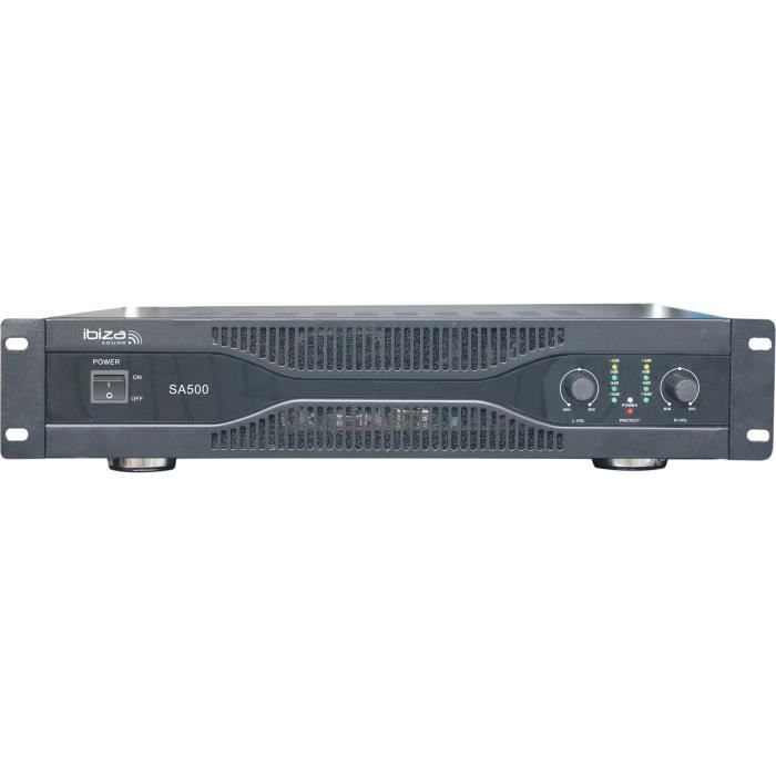 IBIZA SOUND SA500 Amplificateur sono 2 x 250w