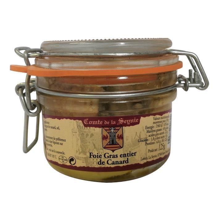 Foie Gras Entier de Canard - 125 g
