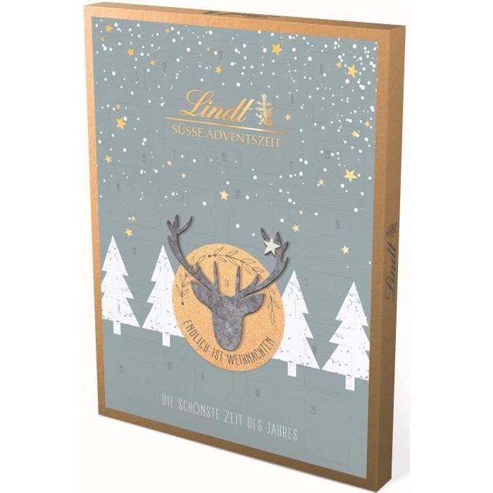 Lindt Calendrier de l'Avent Edition en feutre Noël Chocolat 275g