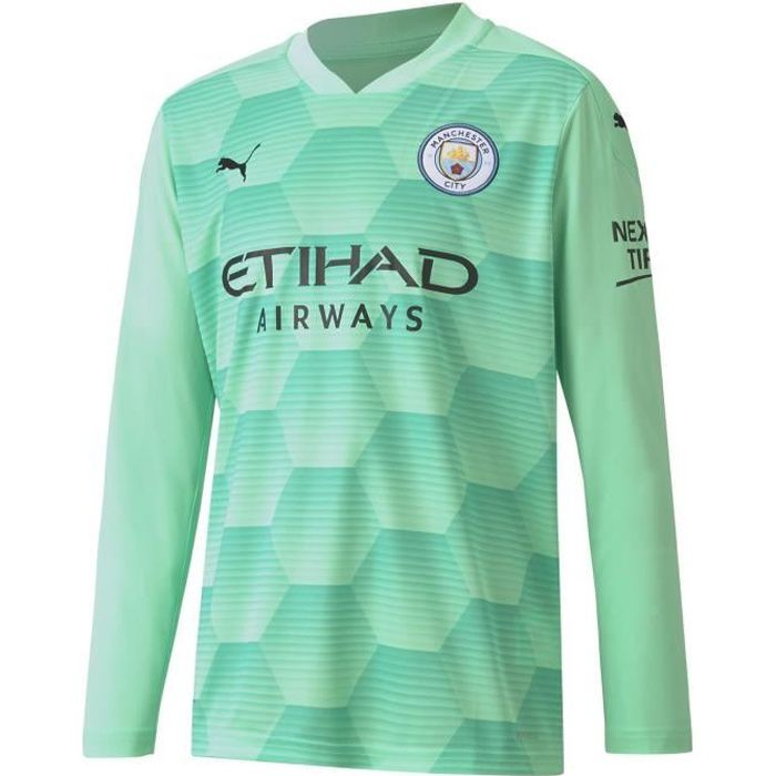 Puma Manchester City Home Maillot Gardien Du But 2020 2021 Enfants
