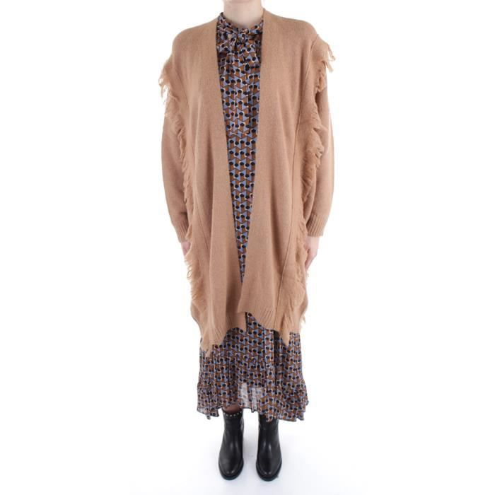 Beatrice B 20FA8993EVITA tricots Cardigan Femme marron