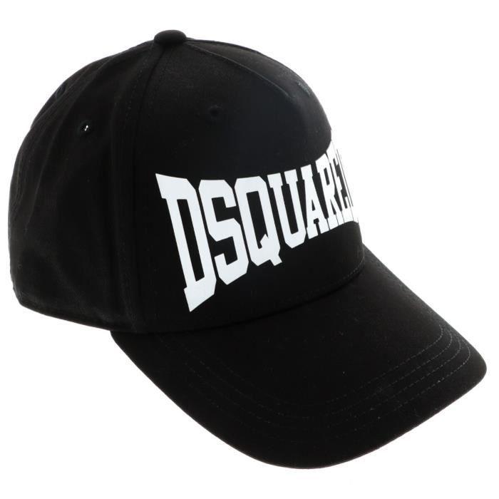 DSQUARED2 Garçon casquettes-chapeaux en couleur Noir - Taille 53cm