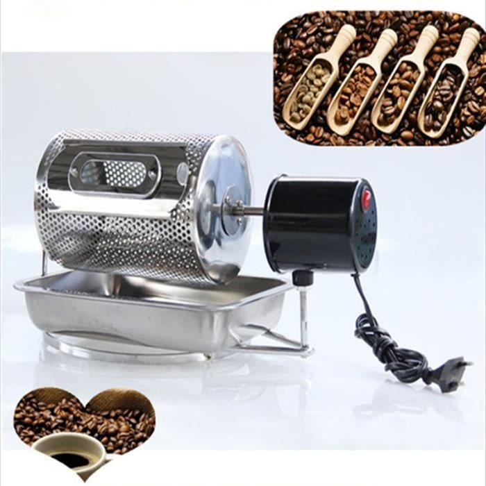 Électrique en acier inoxydable café torréfacteur machine arachide noix de cajou châtaigne