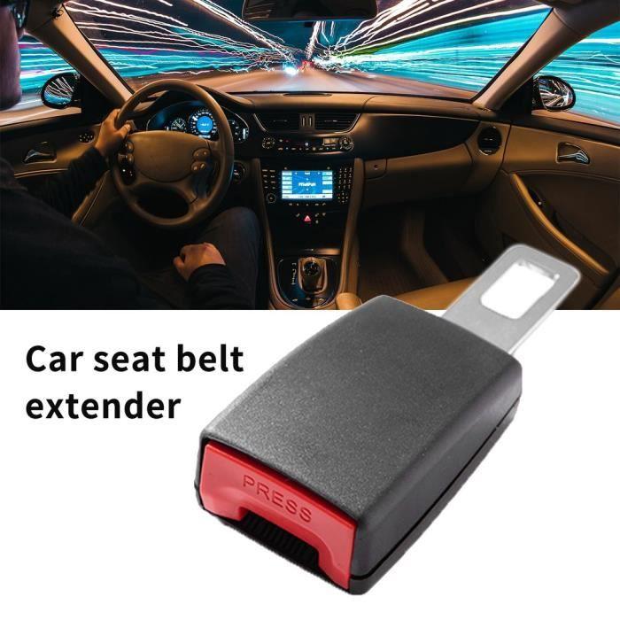 Extension de ceinture de sécurité de haute qualité de voiture Extender 12Cm