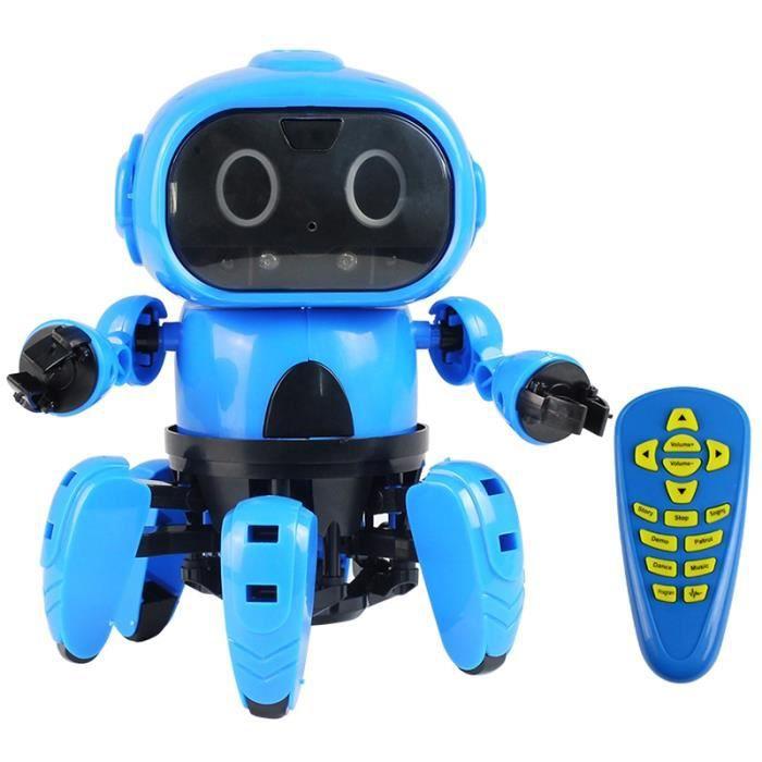 Bricolage Kit de Construction RC Robot Jouet créatif Modèle télécommande Jeu d'Assemblage intelligent Enfant Cadeau Fête Noël
