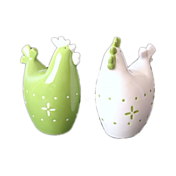 poule j line c ramique lot 2 deco neuf design achat On achat deco design