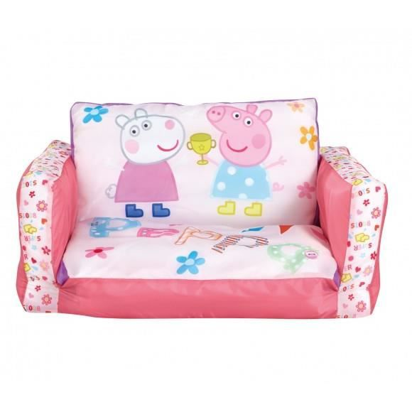 sofa peppa pig pour enfant coloris rose achat vente. Black Bedroom Furniture Sets. Home Design Ideas