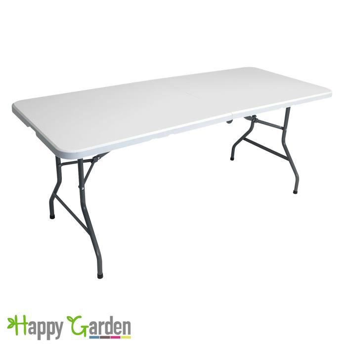 table rectangulaire pliante cocktail achat vente table de jardin table rectangulaire pliante. Black Bedroom Furniture Sets. Home Design Ideas