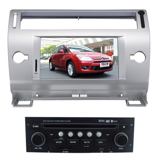 autoradio dvd gps usb cran tactile citroen c4 achat vente autoradio autoradio gps citroen. Black Bedroom Furniture Sets. Home Design Ideas