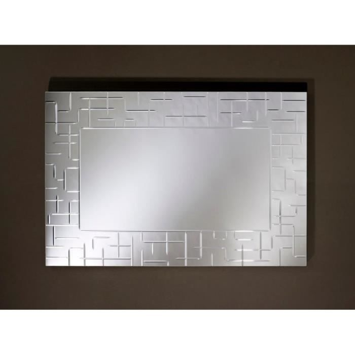labyrinthe miroir mural rectangulaire travaill achat On miroirs rectangulaires design