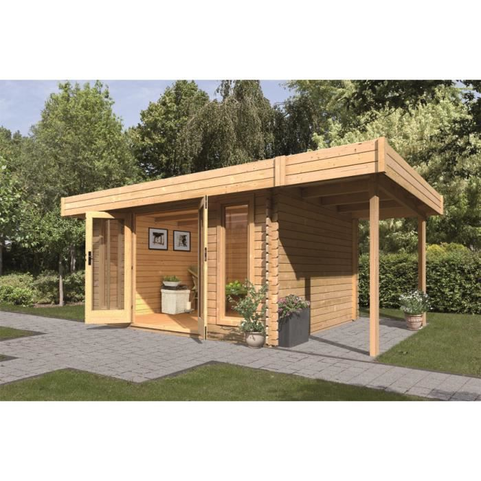chalet de jardin bois m 28 mm avec app achat vente abri jardin chalet chalet de. Black Bedroom Furniture Sets. Home Design Ideas