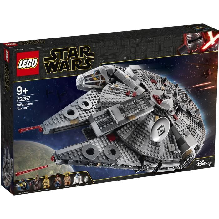 ASSEMBLAGE CONSTRUCTION LEGO® Star Wars™ 75257 Faucon Millenium™