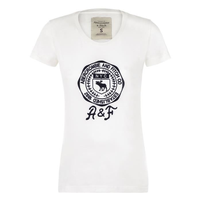 t-shirt femme abercrombie & fitch