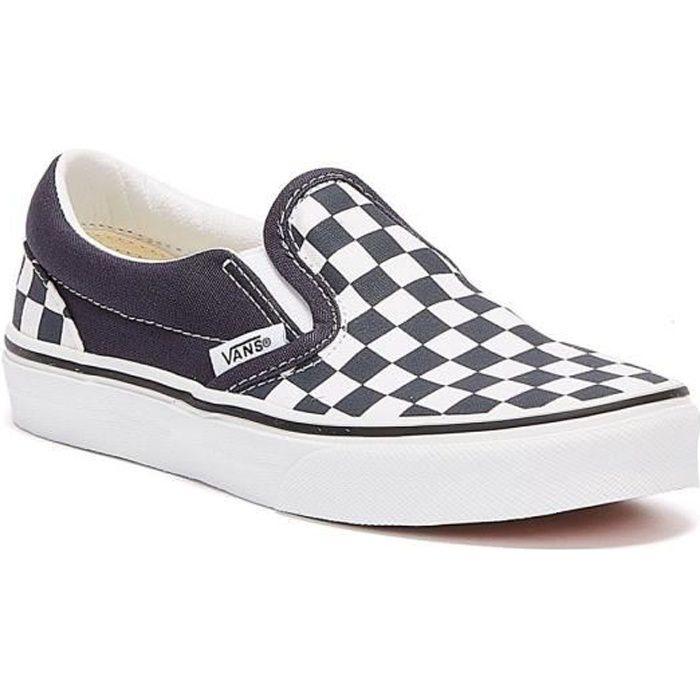 vans checkerboard basket