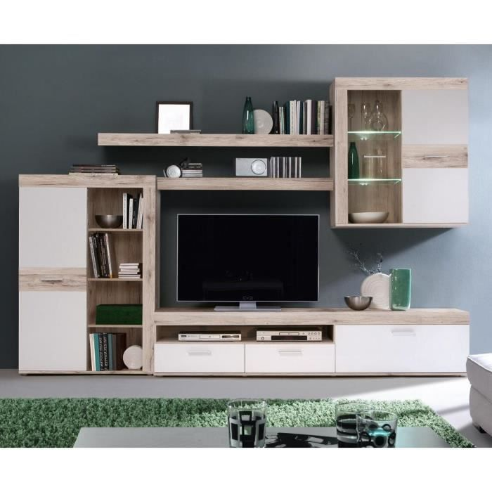 meuble tv led les bons plans de micromonde. Black Bedroom Furniture Sets. Home Design Ideas