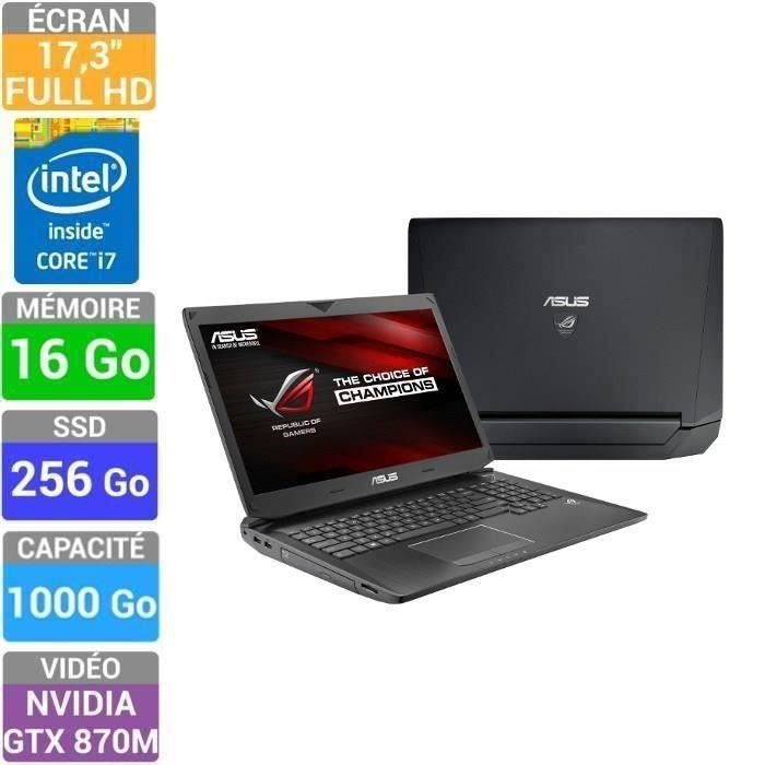 asus rog pc portable gamer g750js t4179h prix pas cher. Black Bedroom Furniture Sets. Home Design Ideas