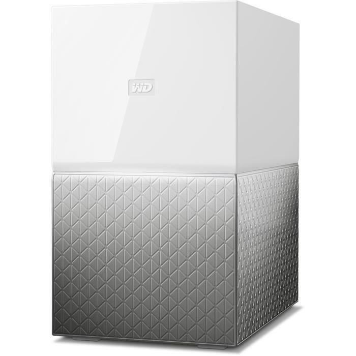 WESTERN DIGITAL - Serveur de Stockage domestique - My Cloud Home Duo - 16To